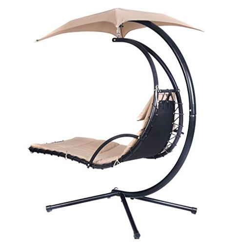 Hanging Chaise Arc Swing