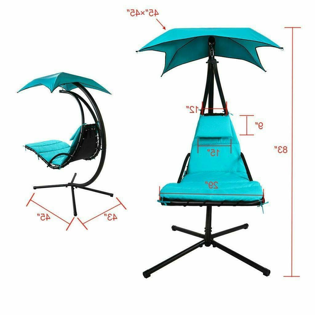 Hanging Lounger Chair Arc Swing Hammock
