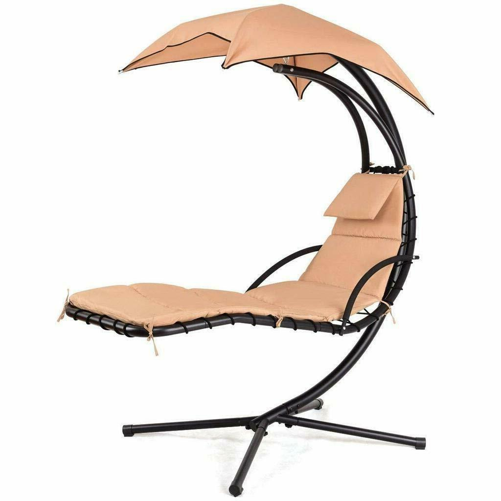 Hanging Chaise Arc Porch Swing Hammock Chair