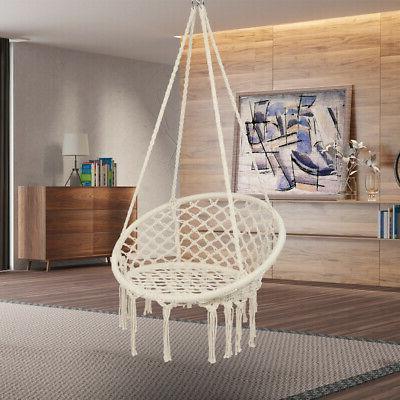 Hanging Rope Chair Hammock Seat Lot