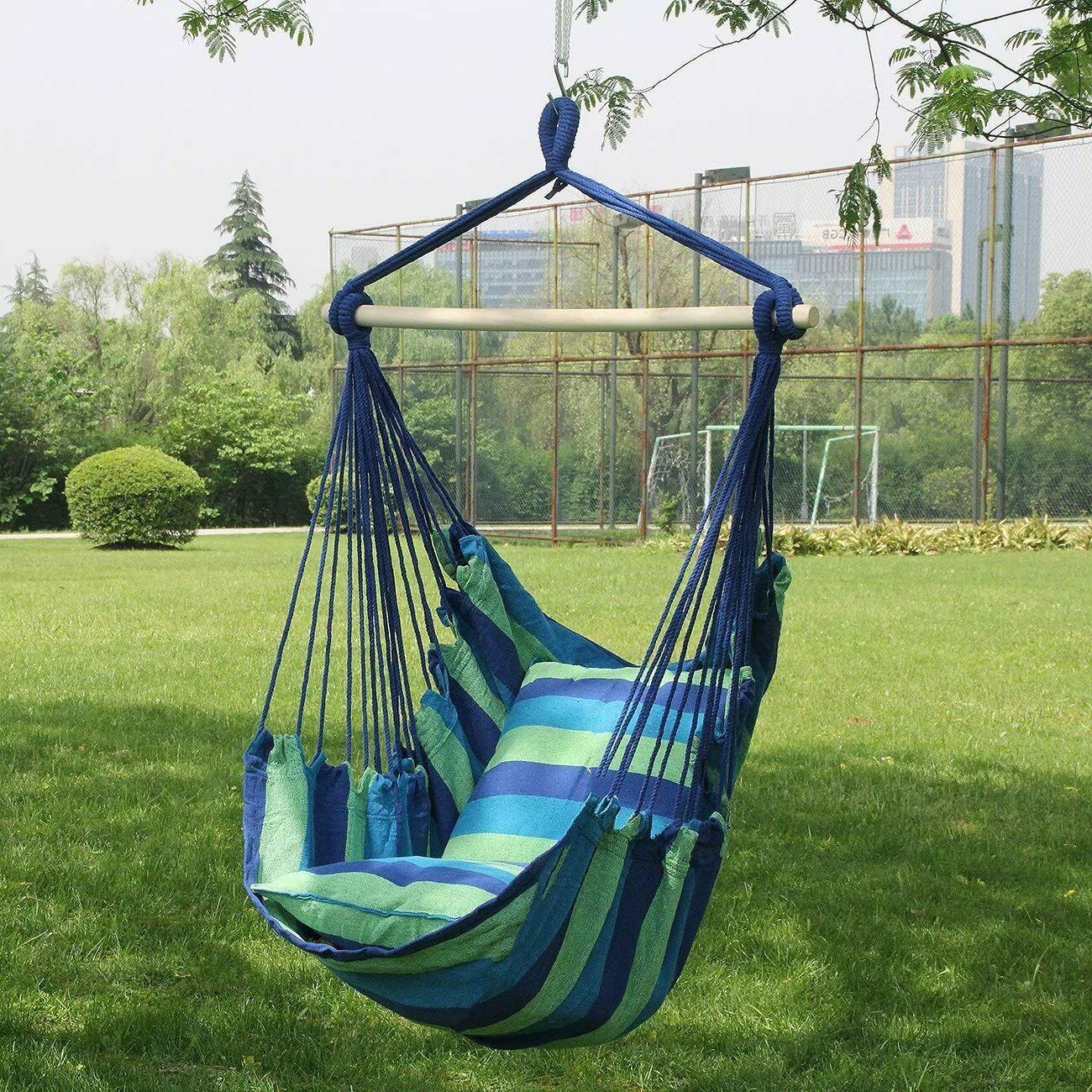 Sorbus Hanging Chair Swing Seat Indoor or Lbs