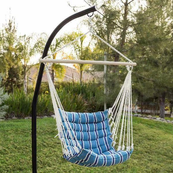 Best Choice Products Outdoor Padded Hanging w/ 40in