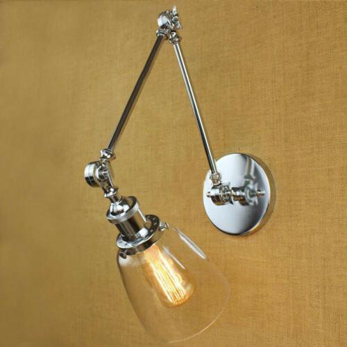 Industrial Wall Glass Retro Swing