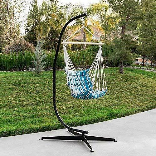 Metal Hanging Hammock Chair C-Stand For Hammock Air