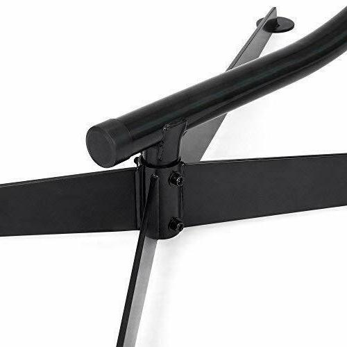 Metal Hanging C-Stand For Porch Black