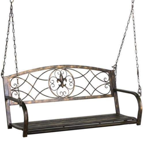 Metal Porch Patio Hanging Furniture Person Chains Deck