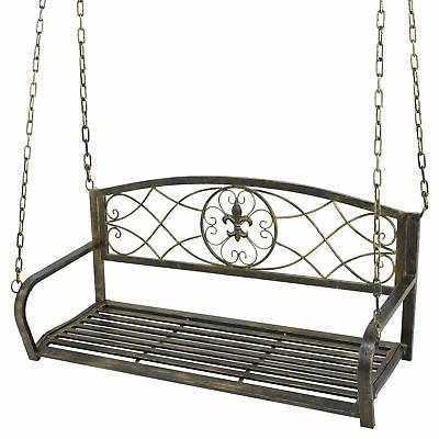 Porch Iron Yard Deck Outdoor Person