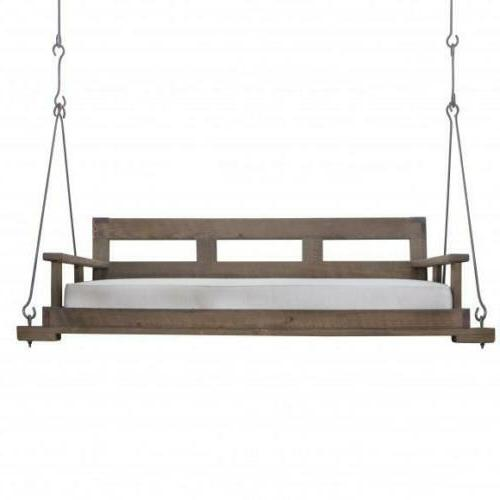 new bed swing by front porch farm