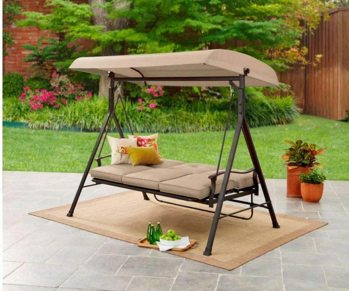 NEW Mainstay 3 Seat Porch Swing Shipping