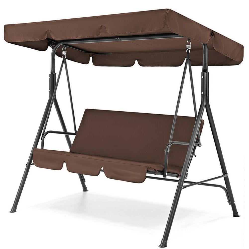 patio outdoor garden waterproof swing canopy replacement