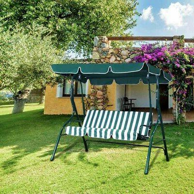 Outdoor 3 Person Patio Awning Porch