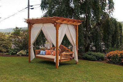 Marlboro Foot Porch SWING *Unfinished Cedar* Oversized