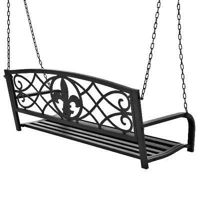 Metal Porch Swing Durably Crafted