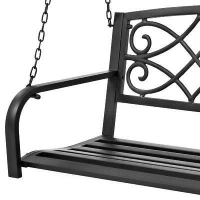 Metal Swing Weather-Resistant Crafted