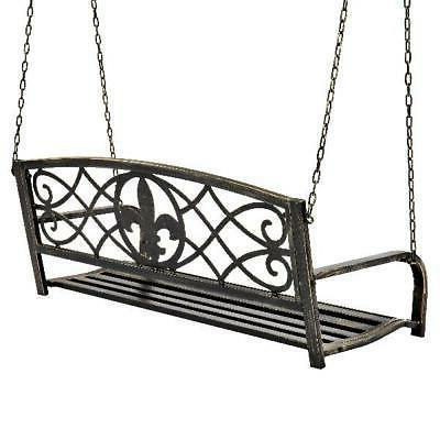 Outdoor Furniture Metal Hanging Bronze