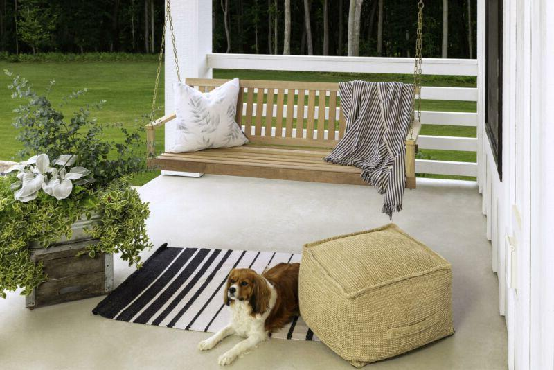 Outdoor Porch Natural Wood Tree ft Furniture
