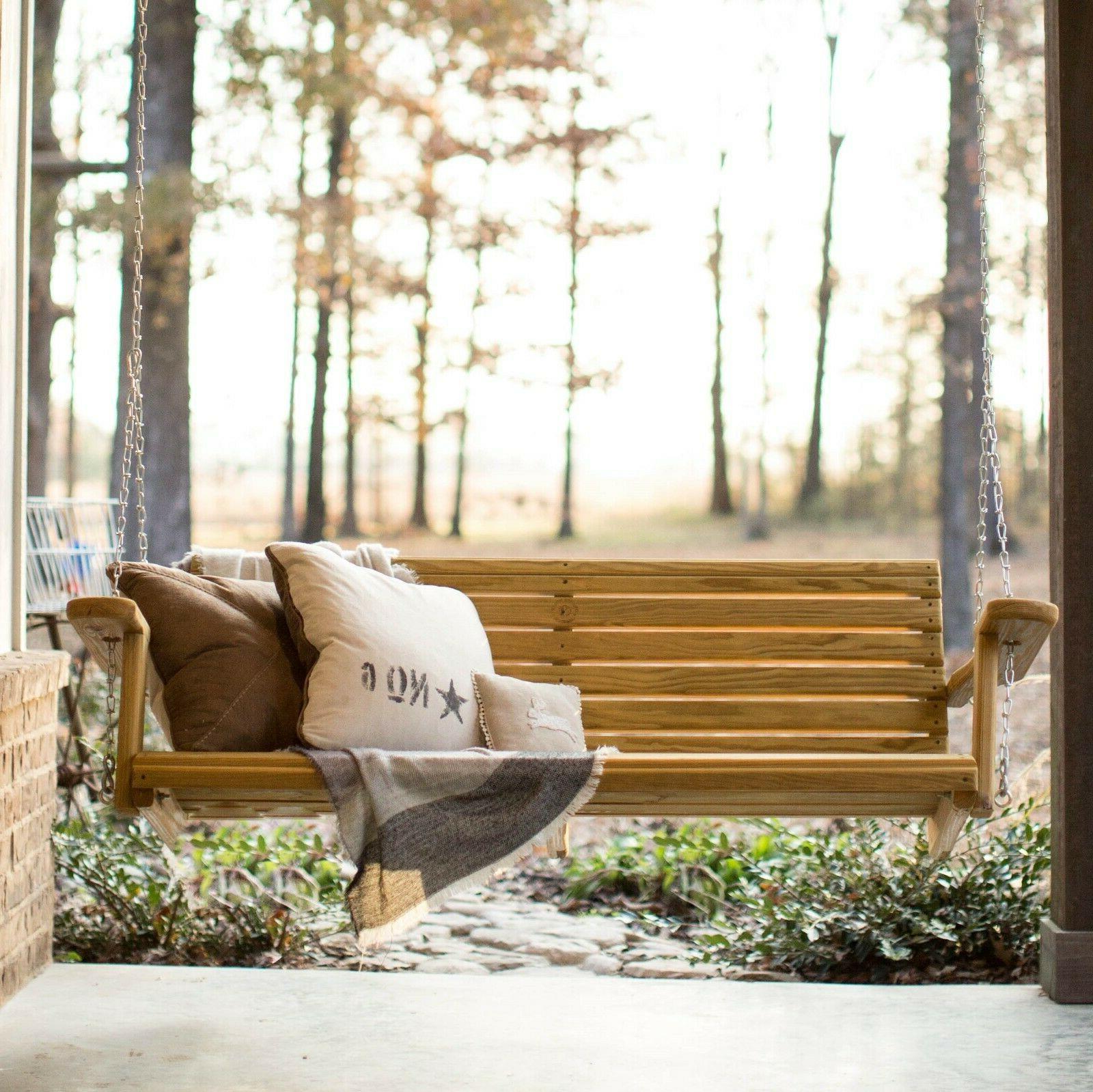 porch swing quality grg treated pine free