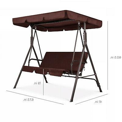 Outdoor / Patio Adjustable Porch Seat