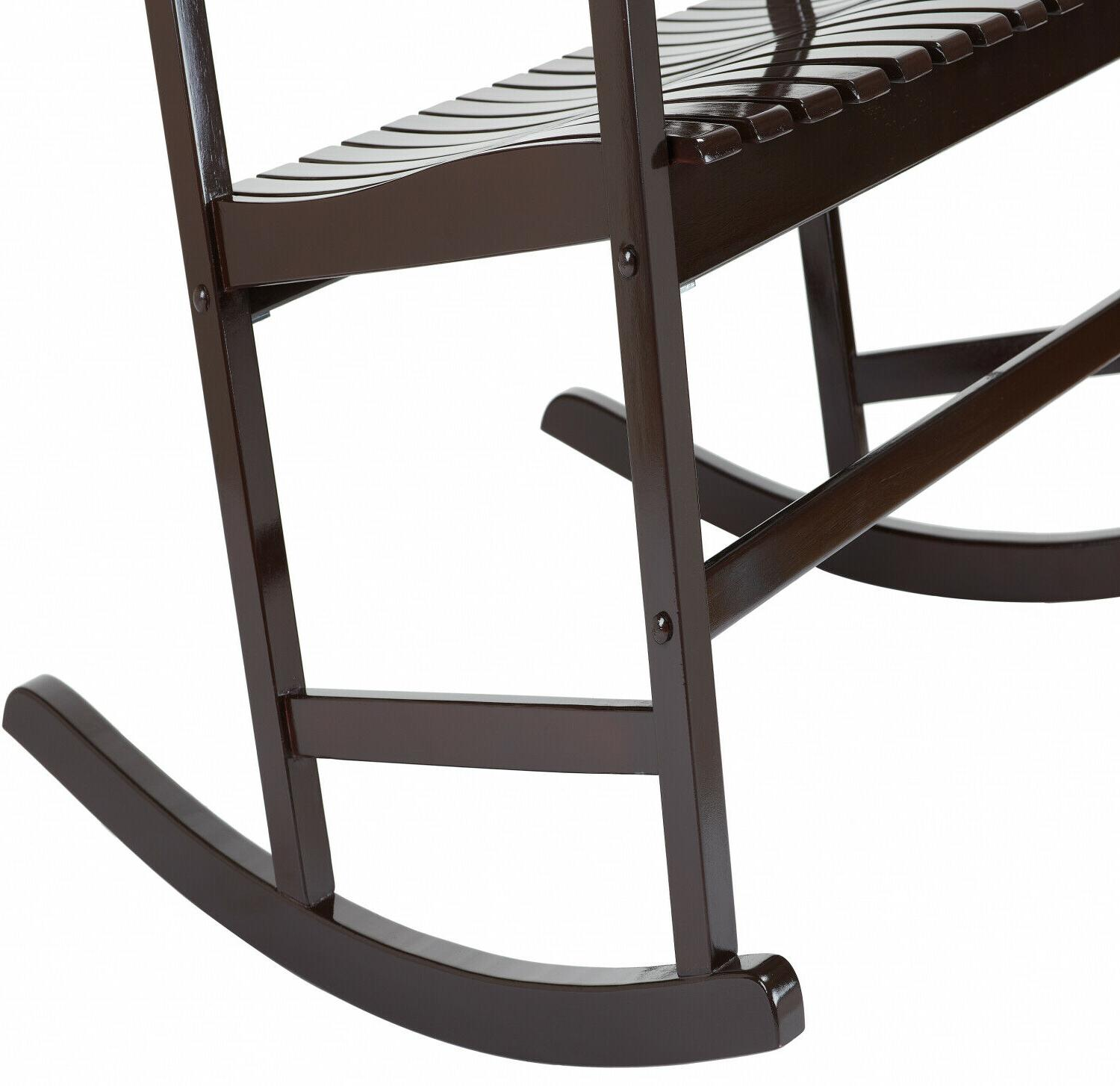 Outdoor 2-Person Double Rocking Chair Deck Classic