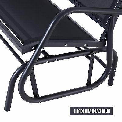 Person Glider Porch Swing Chair