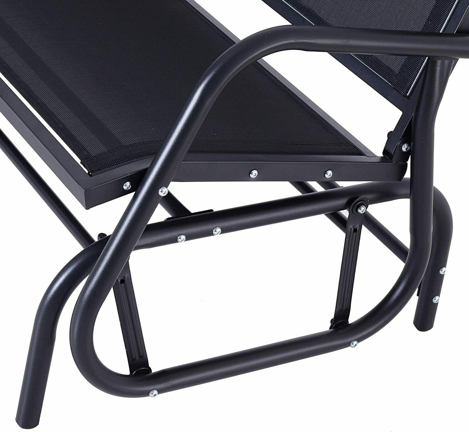 Outsunny 2 Porch Love Chair