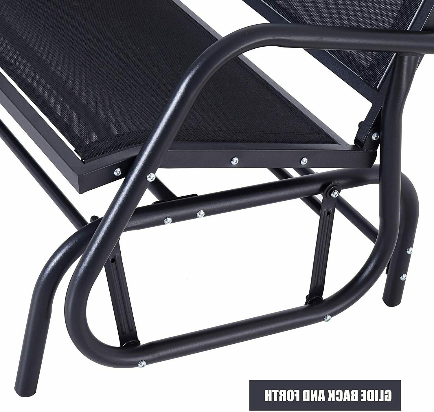 Outsunny Patio Double Person Bench Porch Chair