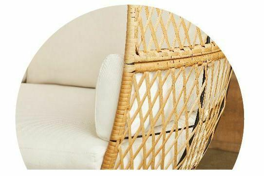 Wicker Chair With Legs Outdoor Patio