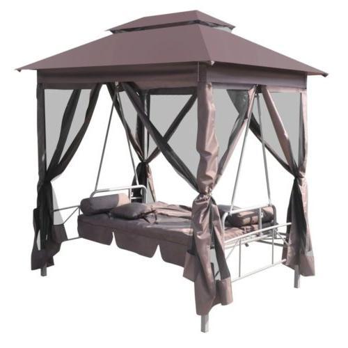 Patio Gazebo Swing Garden Porch Daybed Furniture