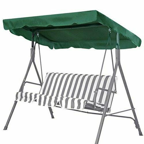 "Benefitusa Patio Outdoor 65""X45"" Swing Canopy Replacement Po"