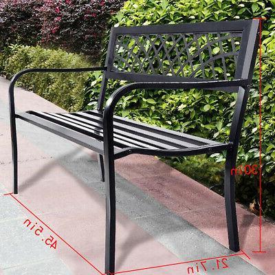 Patio Garden Bench Porch Chair Outdoor Deck 545