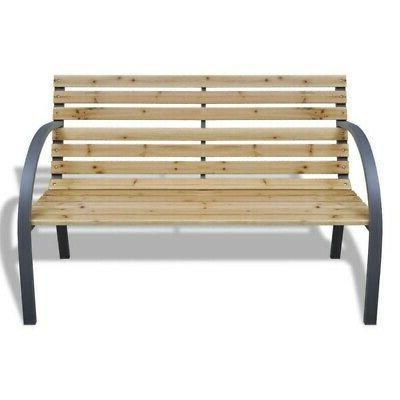 Patio Park Garden Bench Cast US