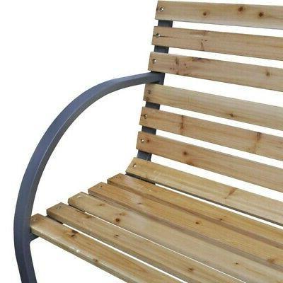 Porch Path Chair Cast Iron Hardwood US