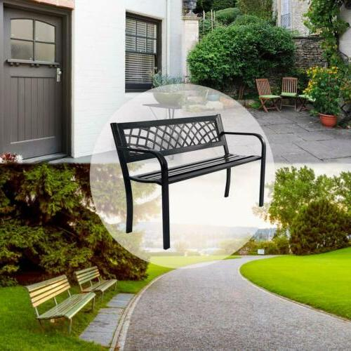 Patio Bench Outdoor Deck Furniture