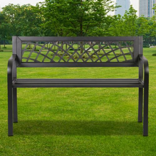 patio park yard garden bench porch path