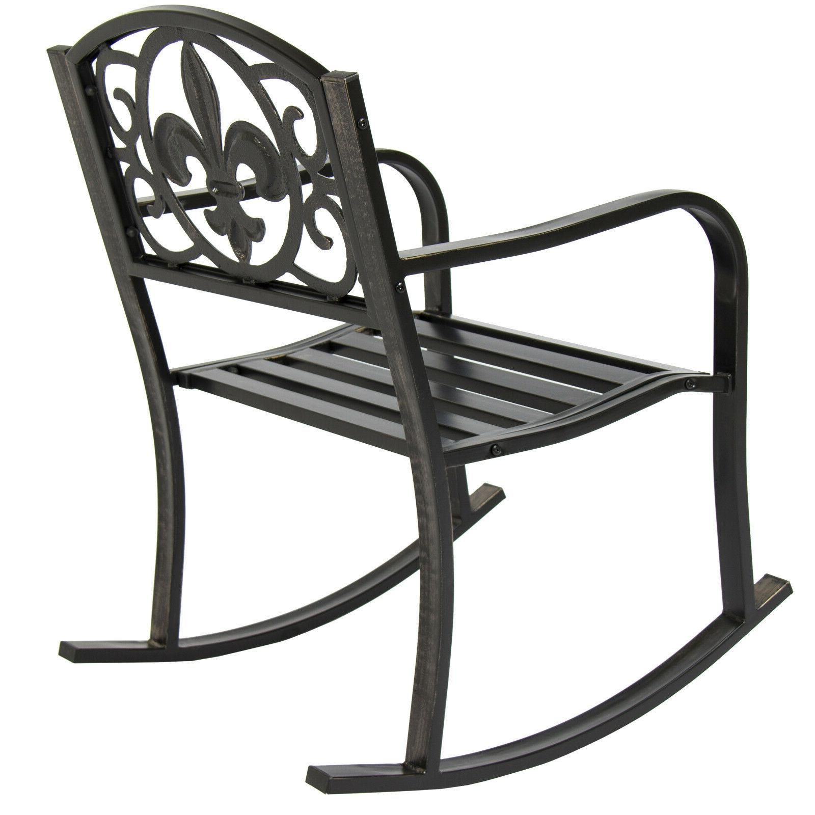 Patio Rocking Chair Outdoor Porch Furniture Seat