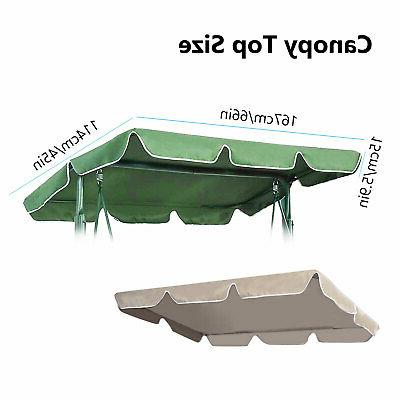 Patio Swing Cover Replacement Outdoor Yard Seat Furnitur