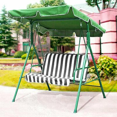 Patio Swing Canopy Cover Replacement Garden Yard Furnitur