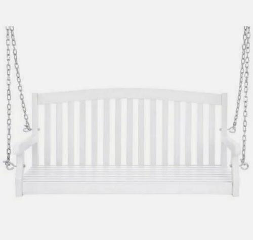 Porch Hanging Metal White