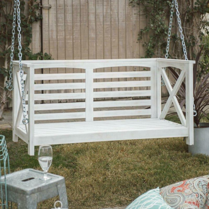 Porch Swing Outdoor Clearance Garden with