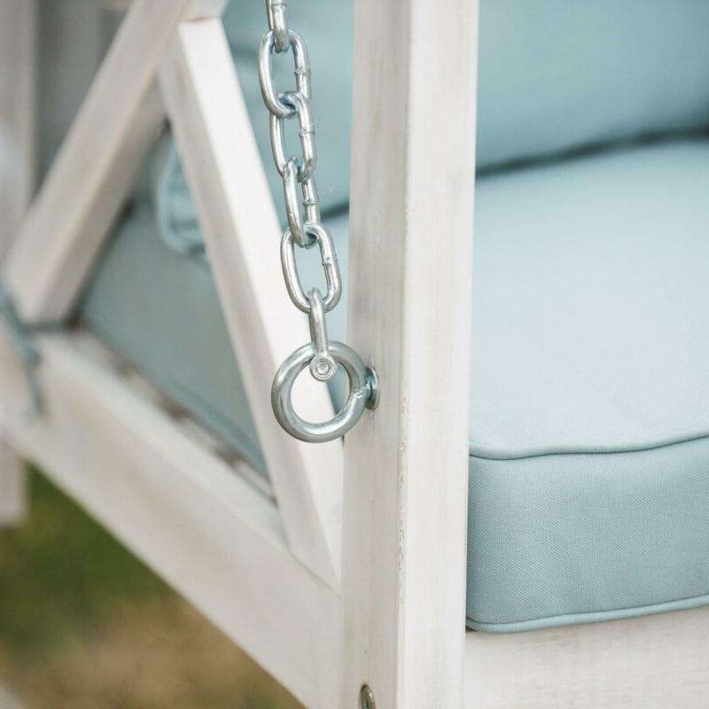 Porch Swing Outdoor Clearance Garden Patio with Cushion Pillows