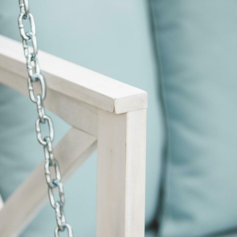 Porch Swing Garden Patio with Cushion and