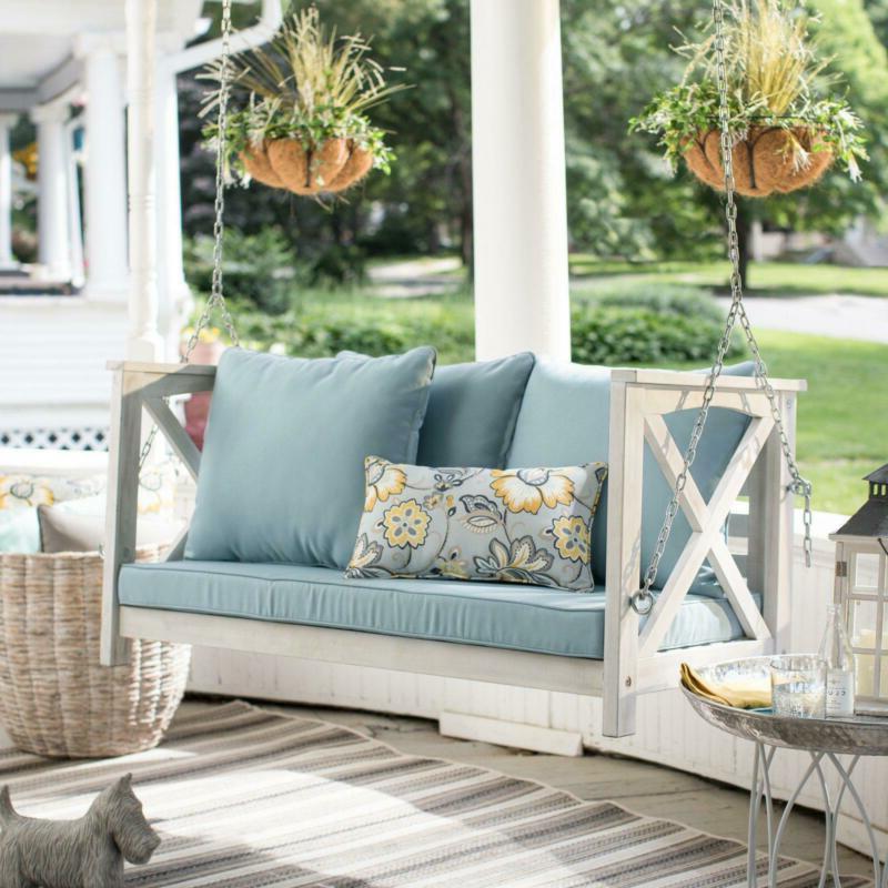 Porch Garden Patio with Pillows