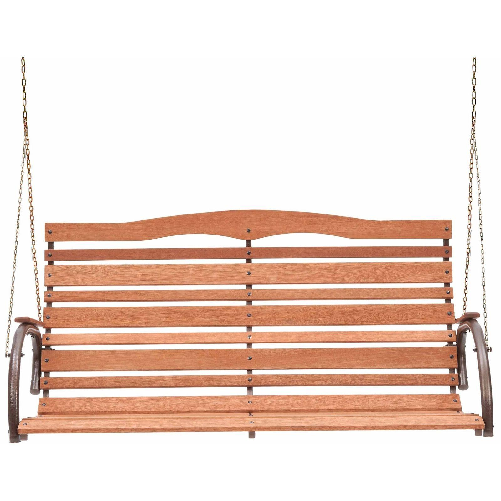 Porch Swings Sale Solid Loveseat Patio Backyard