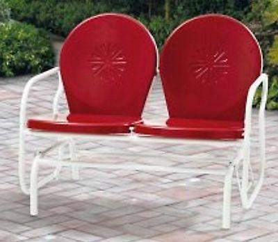 Retro Metal Seating Patio