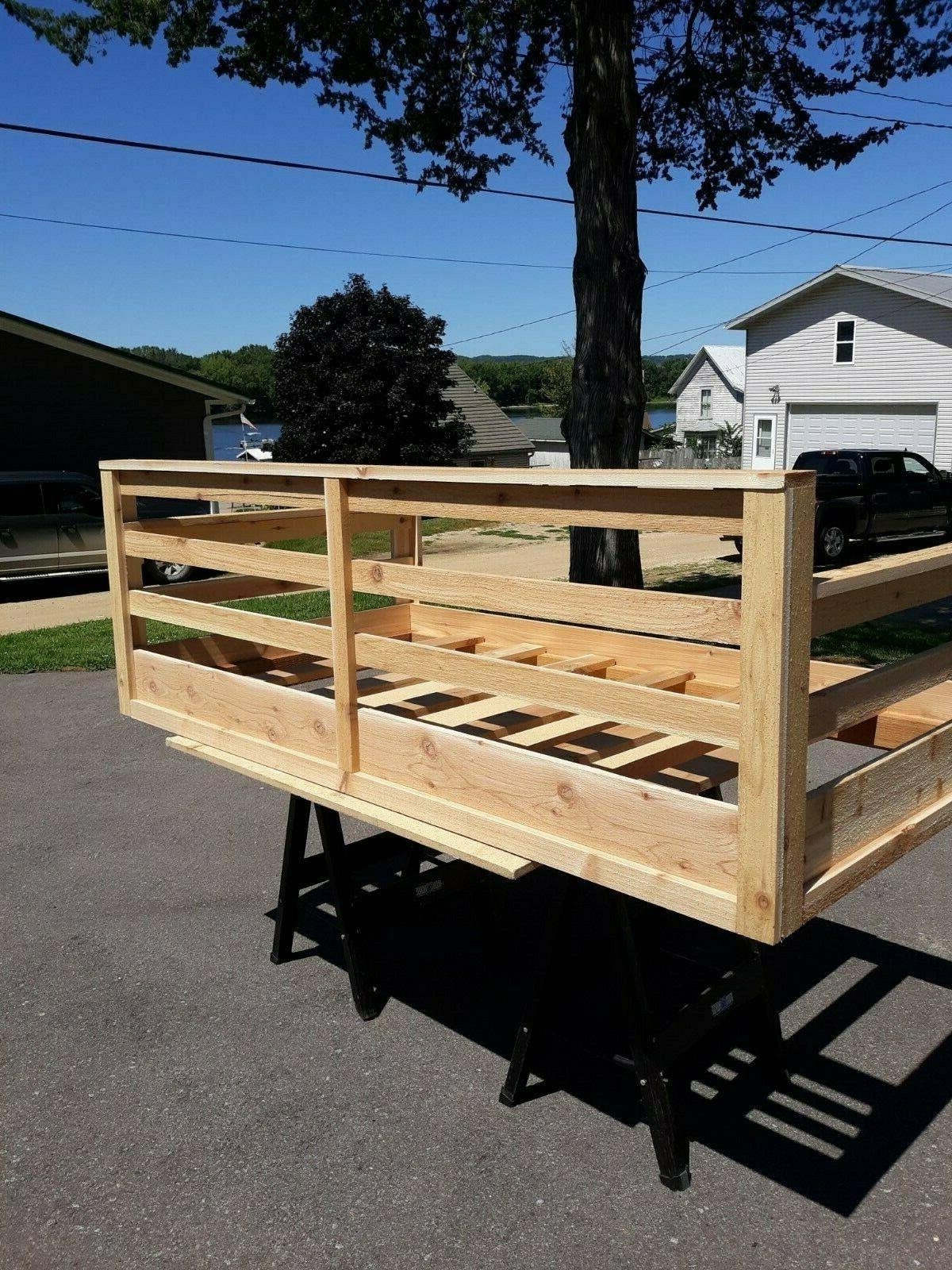 Roughsawed Porch Twin Sized Bed
