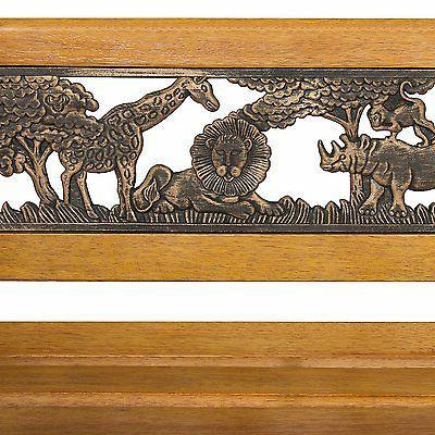 Best Products Outdoor Safari Animals & Wood Bench Home