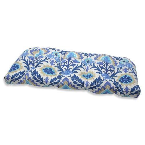 santa maria wicker loveseat cushion