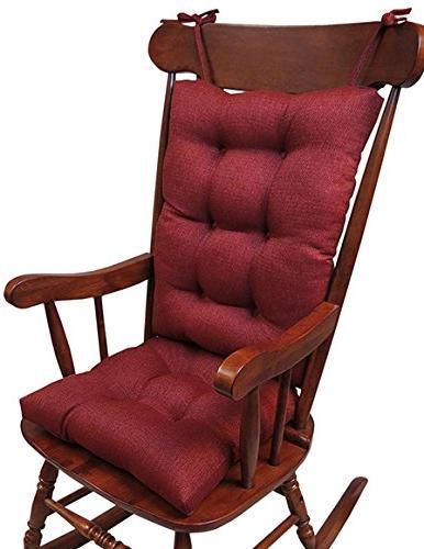 set 2 rocking chair cushion