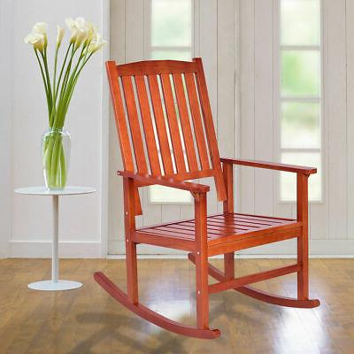 Set Rocking Porch Rocker Indoor Outdoor Patio Furniture New