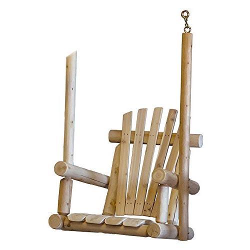 single chair porch swing